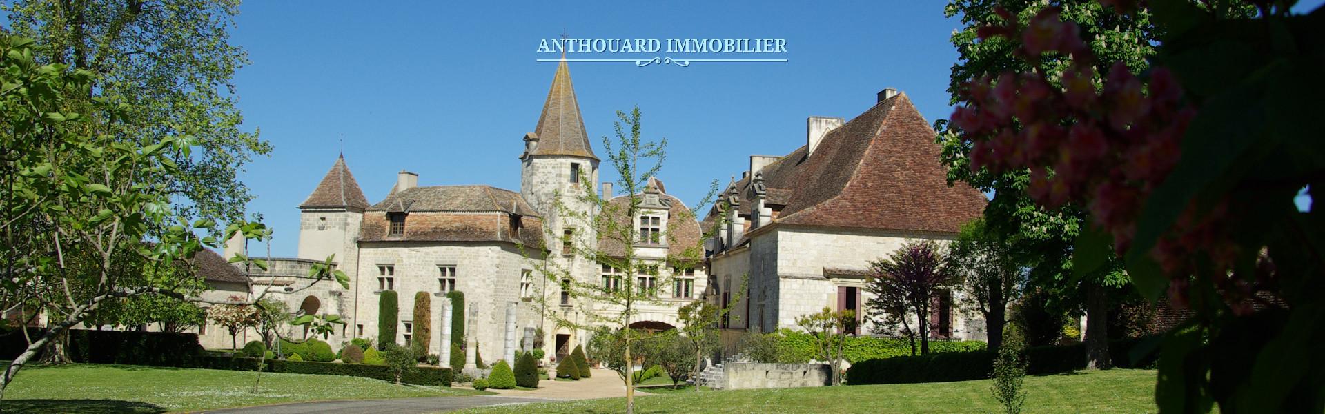 Château Périgord achat grand domaine