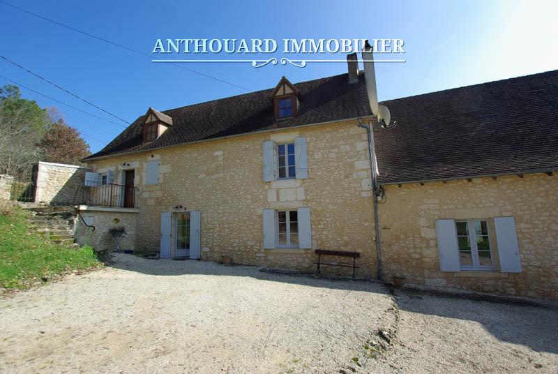 Anthouard Immobilier Ref 1129, Propriété à vendre en Dordogne, entre Bergerac et Périgueux, maison en pierre (17)