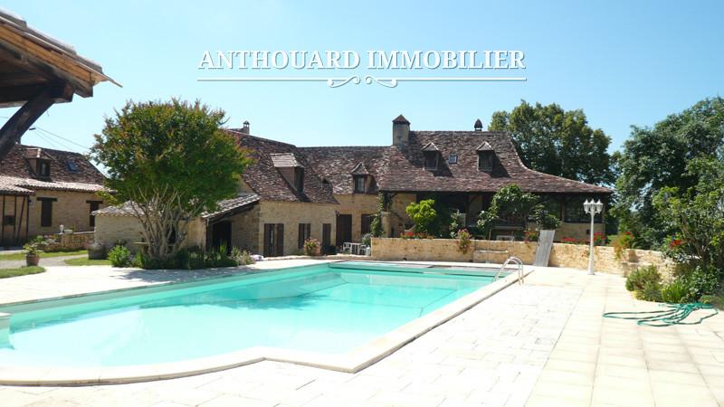 Demeures de charme maisons et propri t s de campagne for Maison dordogne avec piscine