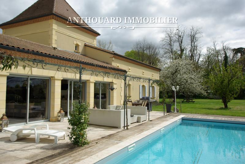 Anthouard Immobilier Ref 1139 A vendre sur la Dordogne, propriété de charme, Périgord , proche Bergerac (47)
