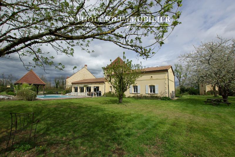 Anthouard Immobilier Ref 1139 A vendre sur la Dordogne, propriété de charme, Périgord , proche Bergerac (53)