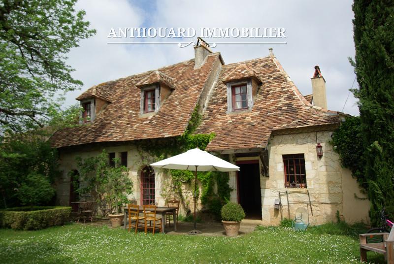 Anthouard Immobilier Ref 1141 Maison en pierrre à vendre en dordogne, proche Bergerac. Charmante demeure (1)