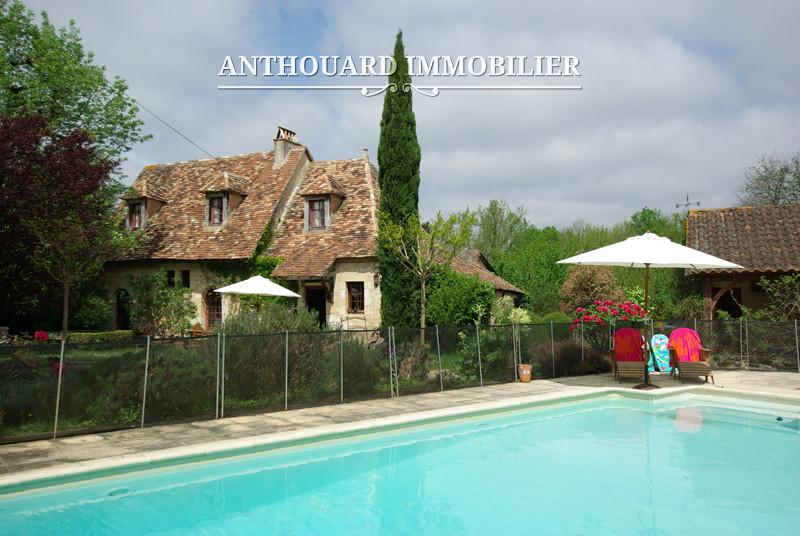 Anthouard Immobilier Ref 1141 Maison en pierrre à vendre en dordogne, proche Bergerac. Charmante demeure (3)