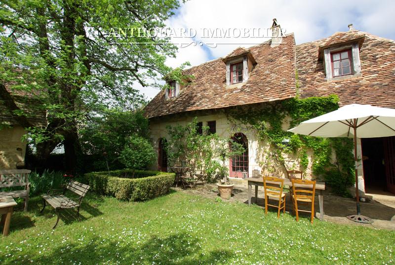 Anthouard Immobilier Ref 1141 Maison en pierrre à vendre en dordogne, proche Bergerac. Charmante demeure (6)