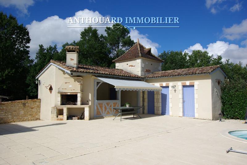 Anthouard Immobilier Ref 1187 Propriété à vendre en Dordogne, proche de Bergerac, Périgord. Maison en pierre (38)