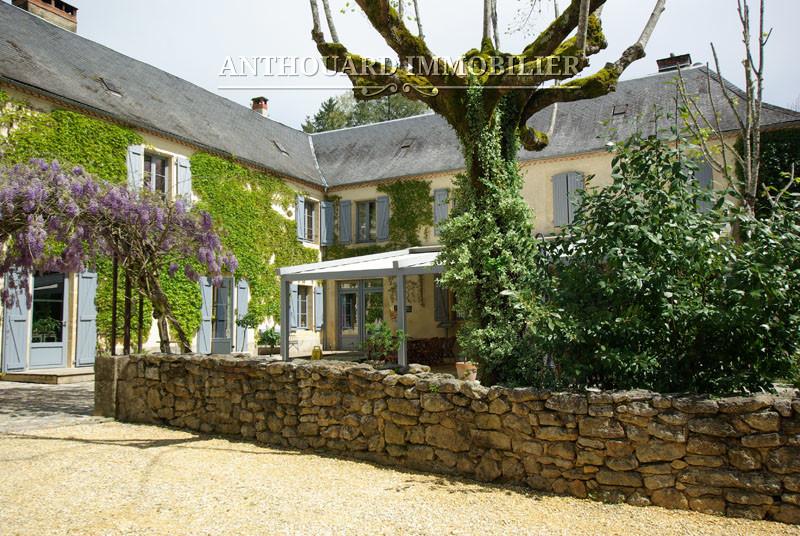 Anthouard Immobilier Ref 1214 A vendre en Périgord, Dordogne, hôtel propriété avec moulin et piscine (48)