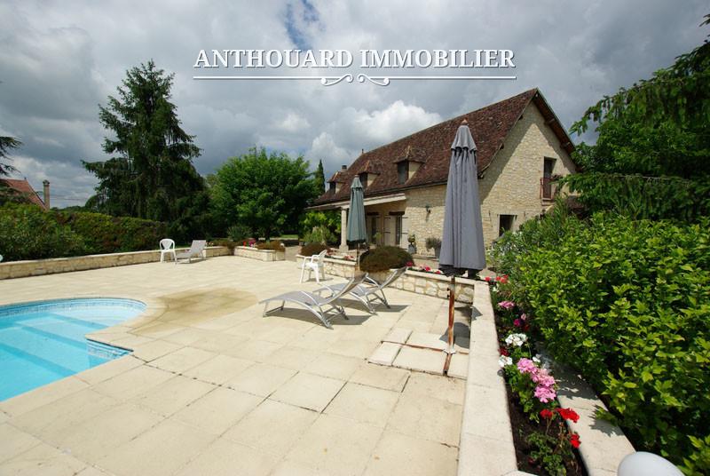 Agence Anthouard Immobilier Propriété maison en pierre avec piscine en Dordogne, Bergerac, Périgord (7)