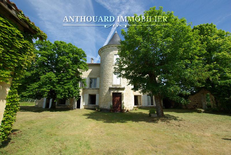 Achat château Périgueux domaine 3ha