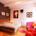 Belle demeure Bergerac vente chambre rouge
