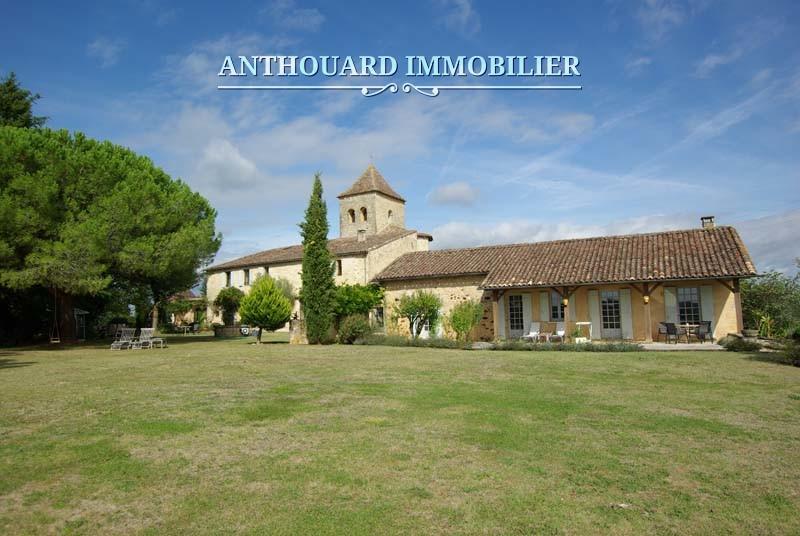 Agence Anthouard Immobilier Ref 1244 A vendre propriété en Dordogne, manoir (71) - Copie