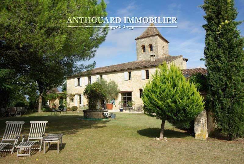 Agence Anthouard Immobilier Ref 1244 A vendre propriété en Dordogne, manoir (72)