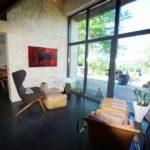 Villa prestige vente Bergerac pièce vitrée
