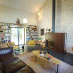 Maison luxe pierre achat Dordogne salon