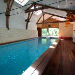Vente maison charme piscine intérieure