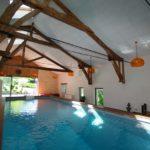 Maison luxe achat piscine intérieure