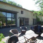Demeure charme achat Dordogne jardin