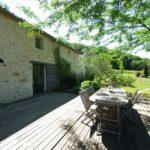 Vente maison pierre charme jardin extérieur
