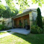 Vente demeure charme Dordogne jardin