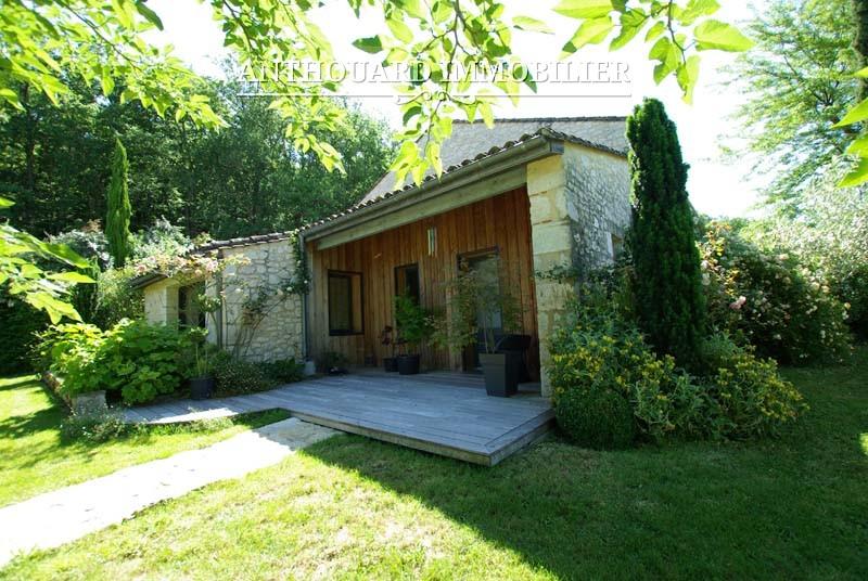 Agence Anthouard Immobilier Propriété à vendre en Dordogne, Bergerac, maison en pierre de charme (65)