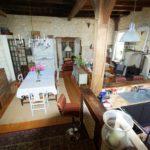 Vente maison pierre Dordogne salon