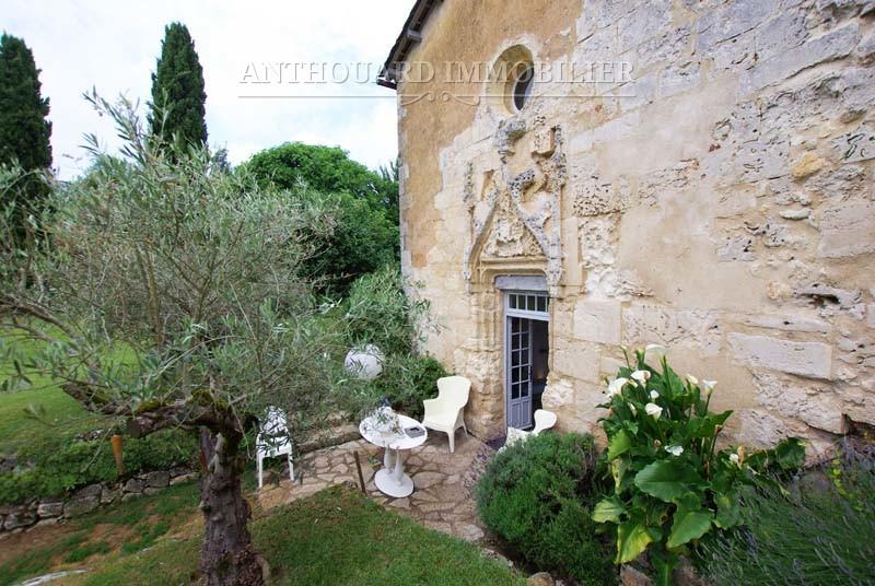 Achat château Dordogne parc extérieur