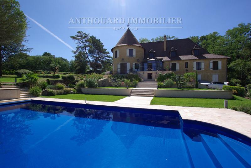 Agence Immobilière Dordogne, Anthouard, château à vendre, vignoble Bergerac Ref 07 (43) - Copie