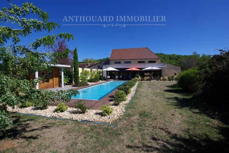 Maison en pierre Proche Bergerac jardin piscine