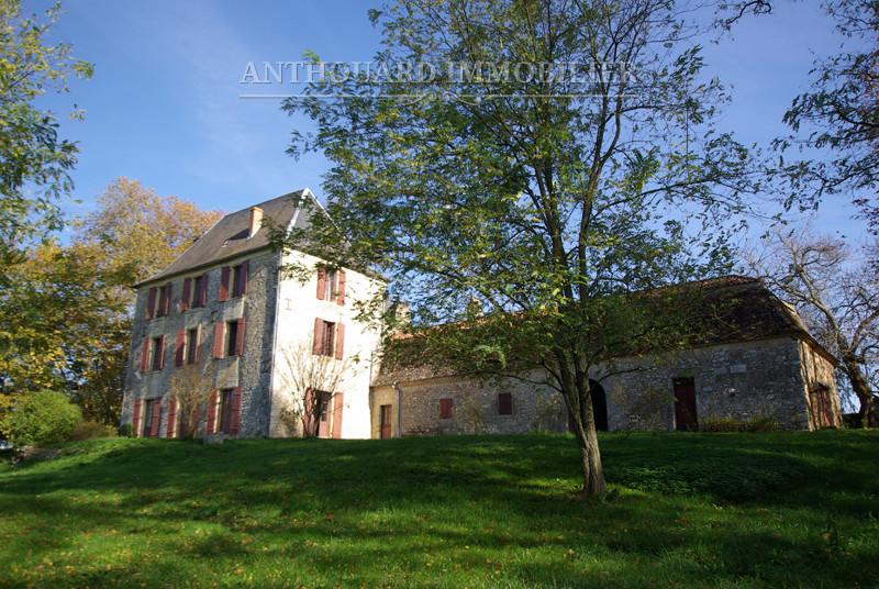 Maison de maître Dordogne parc extérieur