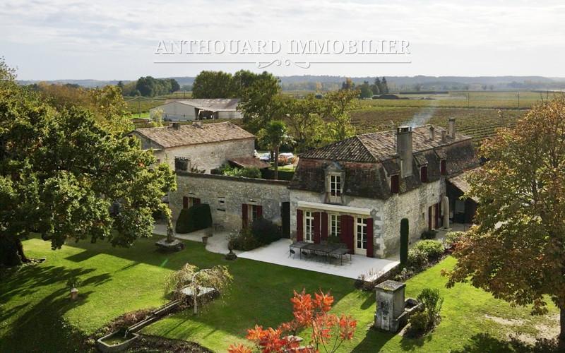Château Dordogne à vendre parc extérieur