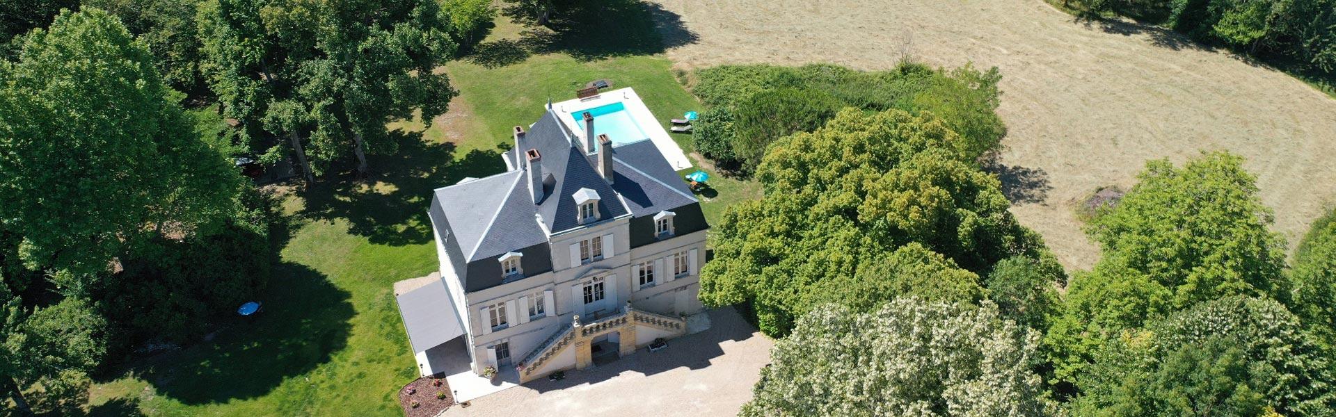 Château à vendre proche de Bergerac - avec piscine