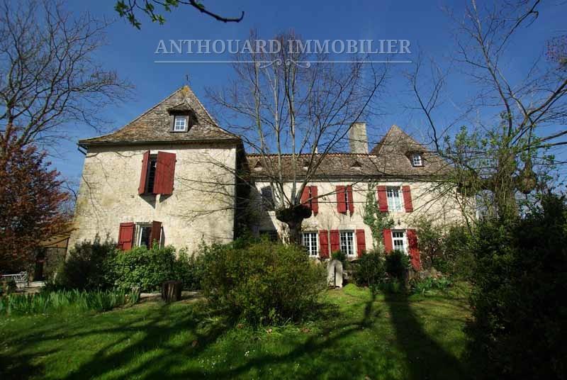 A vendre demeure de charme Pérogord, Anthouard Immobilier ref51 (2)