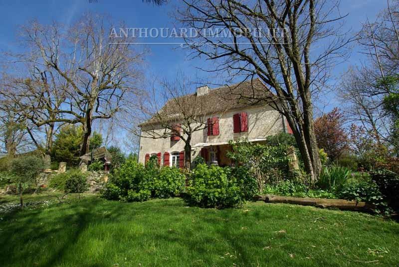A vendre demeure de charme Pérogord, Anthouard Immobilier ref51 (4)