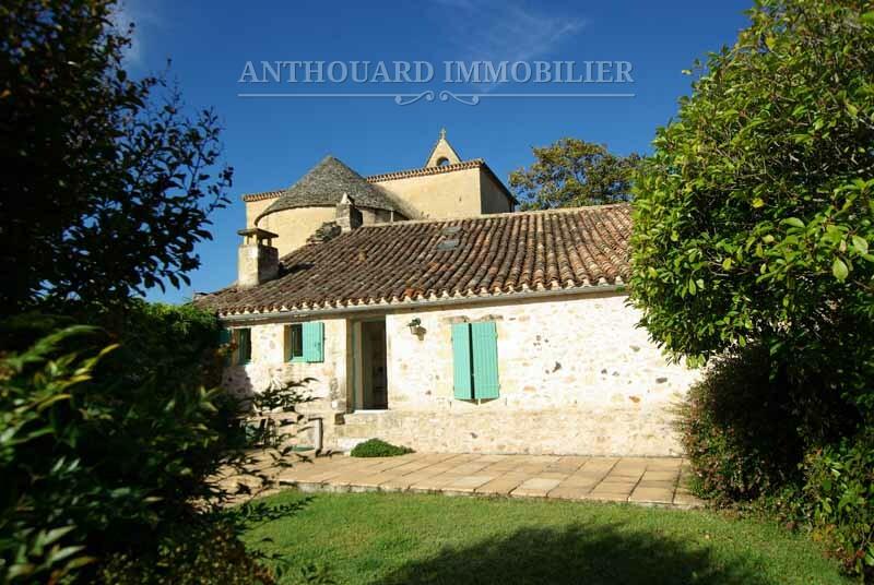 Anthouard Immobilier maison de village en pierre à vendre à Biron Dordogne REF95 (25)