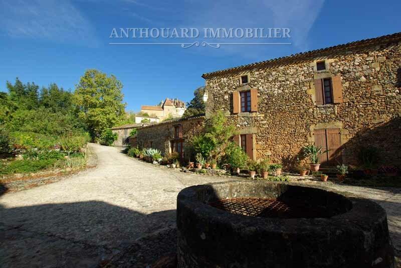 Anthouard Immobilier maison de village en pierre à vendre à Biron Dordogne REF95 (3)