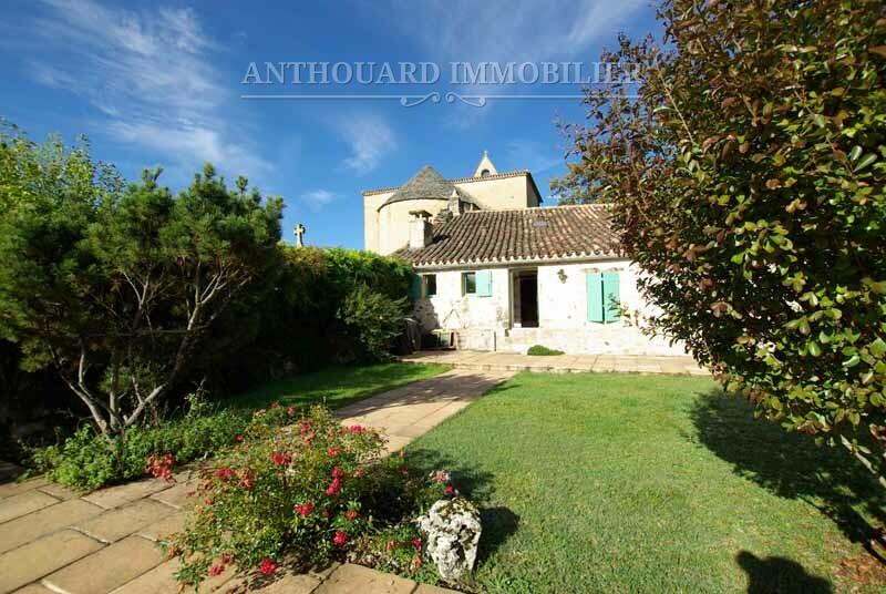 Anthouard Immobilier maison de village en pierre à vendre à Biron Dordogne REF95 (5)